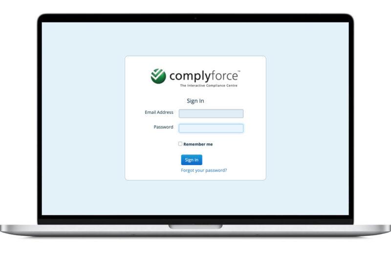 complyforce website